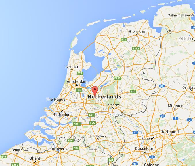 Where Is Amersfoort On Map Netherlands