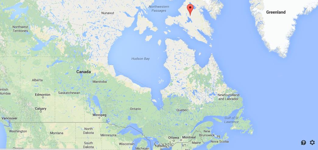 Where Is Baffin Island On Map Of Canada World Easy Guides - Canada map location
