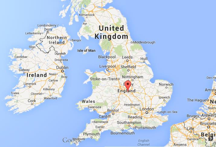 Map Of England Showing Leeds.Where Is Coventry Map England
