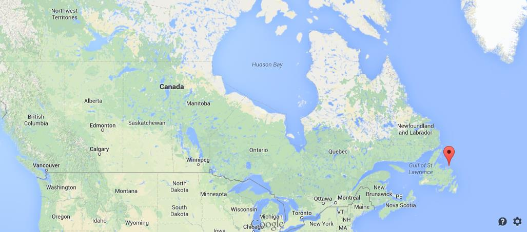 Where is fogo island map canada publicscrutiny Image collections