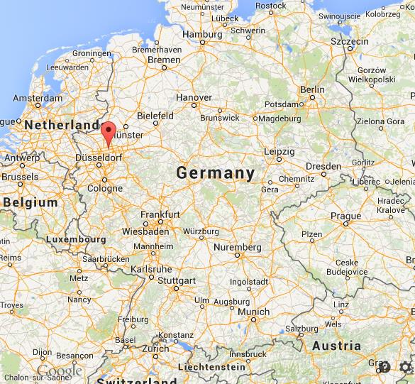 Gelsenkirchen Germany Map.Where Is Gelsenkirchen On Map Germany