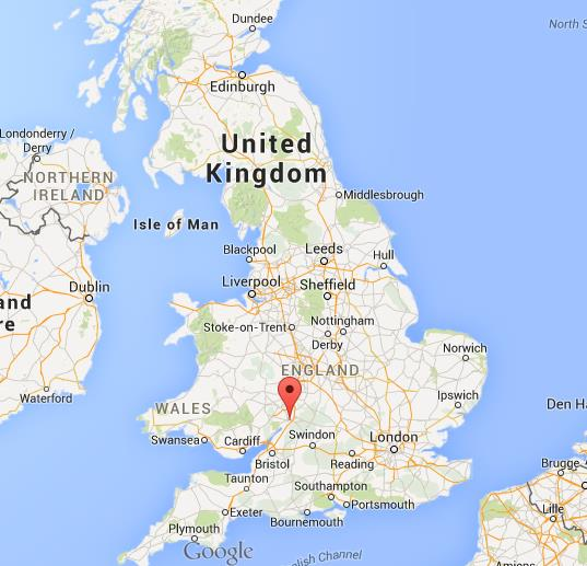 Map Of Uk Gloucester.Where Is Gloucester On Map Of England
