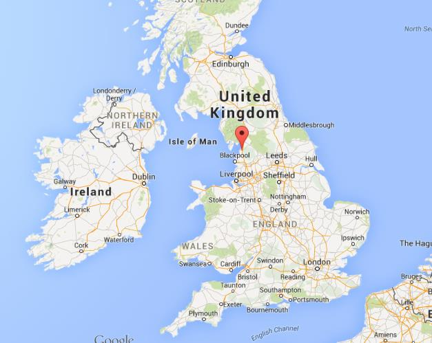 Map Of England Lancaster.Where Is Lancaster On Map Of England