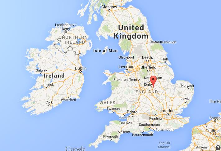 Map Of England Leicester.Where Is Leicester On Map England