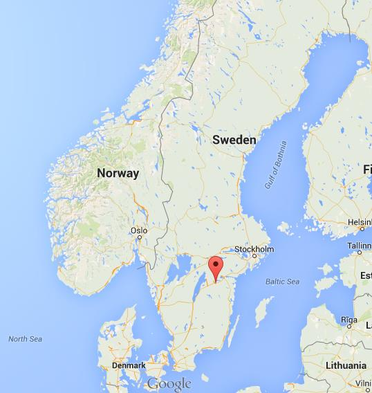 Where is Linkoping on map Sweden World Easy Guides