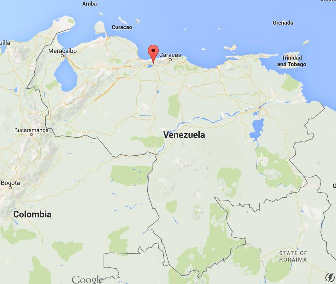Where is Maracay on map Venezuela World Easy Guides