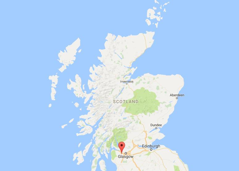 Where Is Paisley On Map Scotland World Easy Guides - Where is scotland