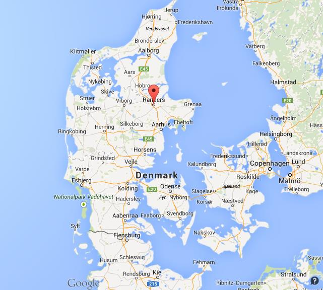 Where is randers on map of denmark gumiabroncs Gallery