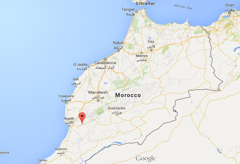 Where Is Taroundant On Map Morocco World Easy Guides - Where is morocco