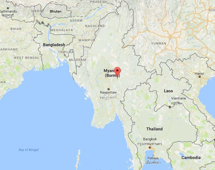 Where is taunggyi on map myanmar world easy guides location taunggyi on map myanmar gumiabroncs Gallery