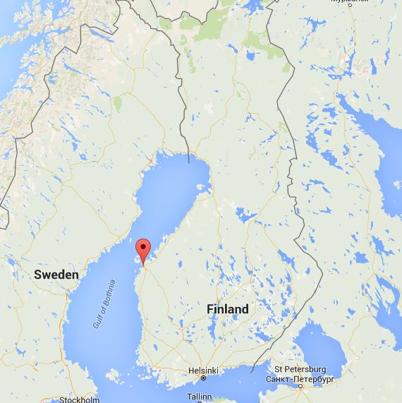 Where Is Vaasa On Map Finland World Easy Guides - Where is finland
