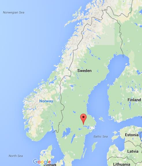 Where is Vasteras on map Sweden World Easy Guides