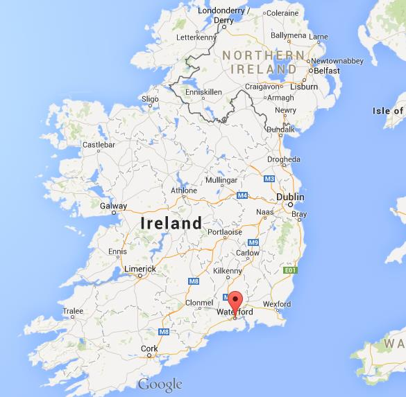 Where Is Waterford On Map Of Ireland
