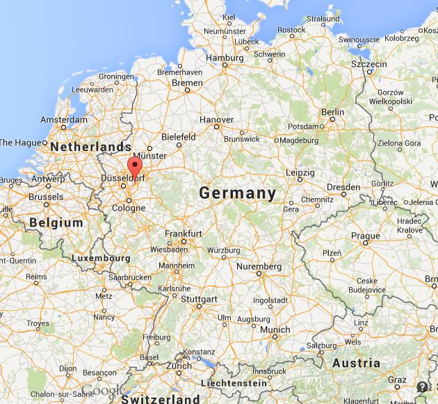 Map Of Germany Ulm.Where Is Wuppertal On Map Of Germany