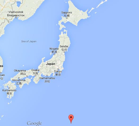 Where are Ogasawara Islands on map Japan