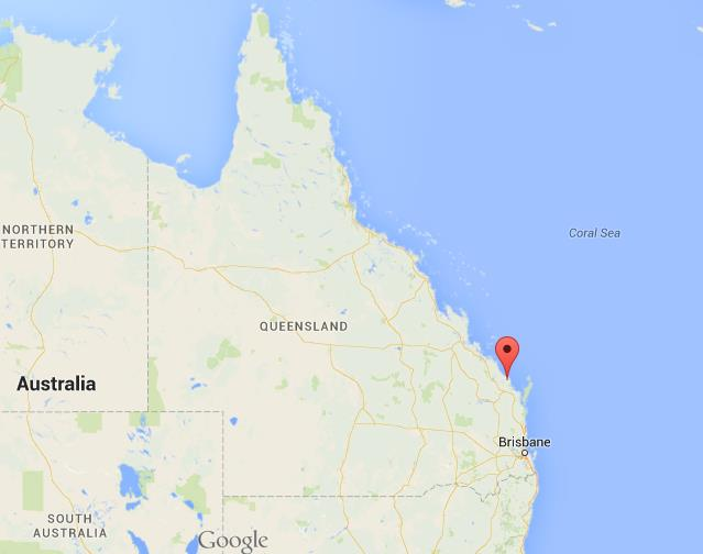 Where is Bundaberg on map of Queensland World Easy Guides