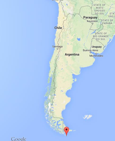 Cape Horn On World Map Where is Cape Horn on map of Chile