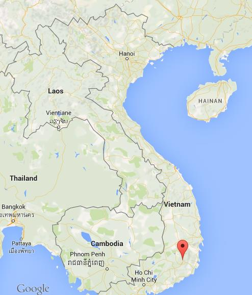 Where is Dalat on map Vietnam World Easy Guides