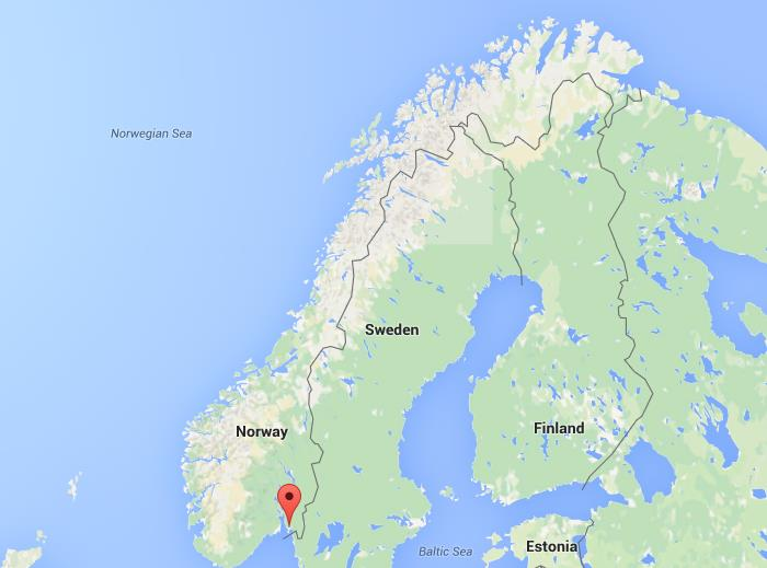 Where Is Fredrikstad On Map Norway World Easy Guides - Where is norway