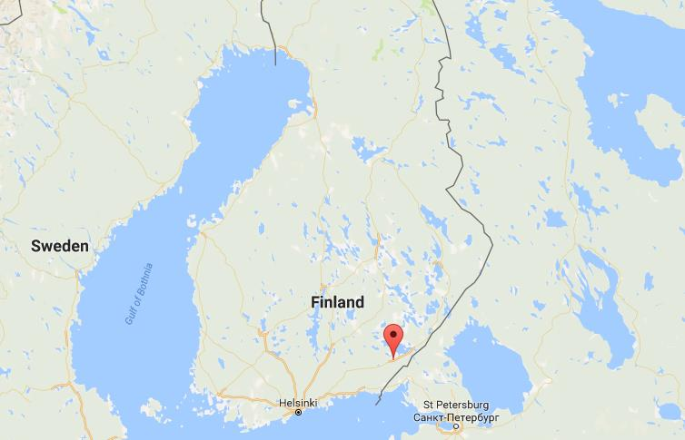 Where is Lappeenranta on map Finland World Easy Guides