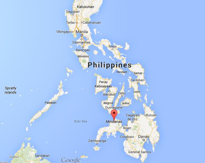 Where Is Mindanao Island On Map Philippines