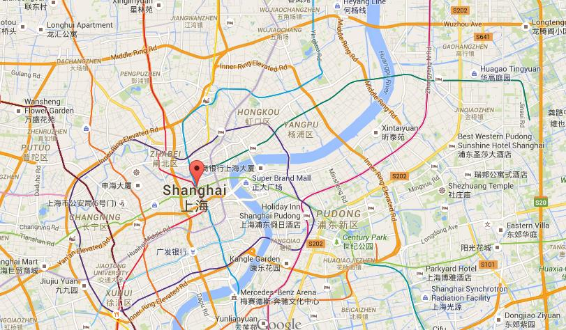 Where Is Nanjing Road On Map Shanghai World Easy Guides - Nanjing map