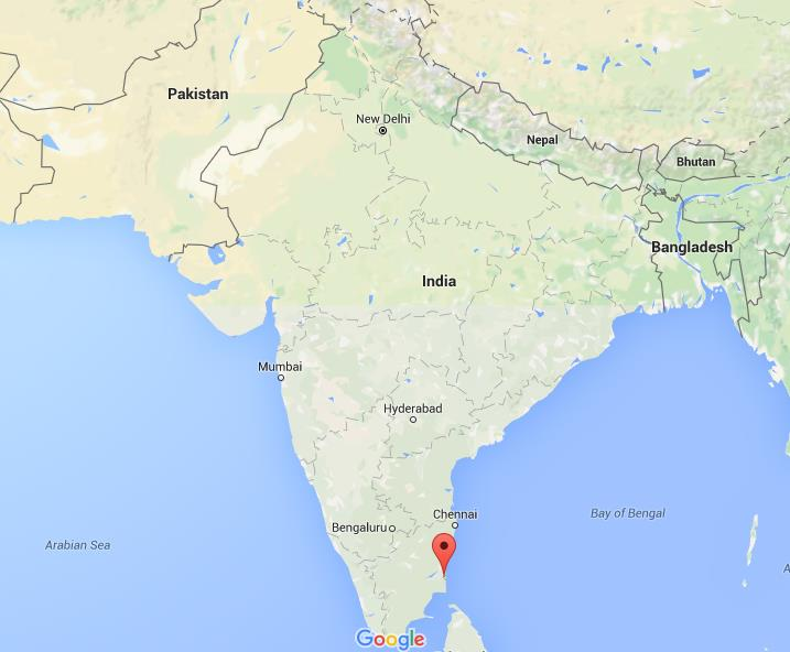 Where is pondicherry on map india gumiabroncs Image collections