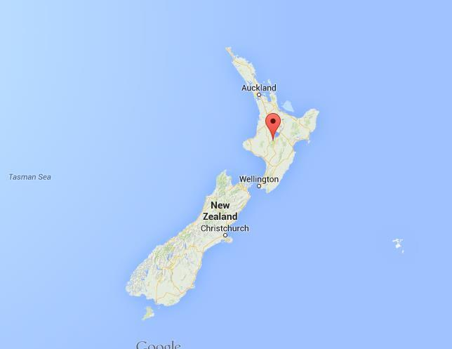 Where Is Tongariro National Park On Map New Zealand World Easy - National parks locations map