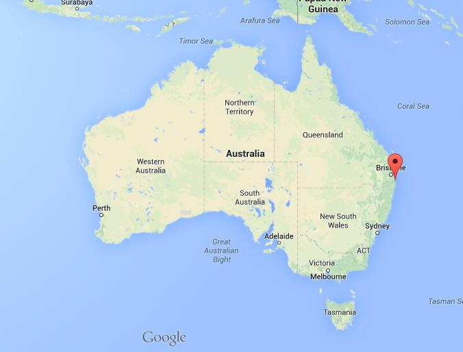 where is tweed heads map australia