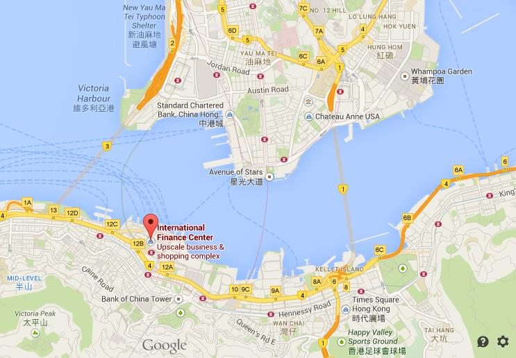Where is two international finance centre map hong kong world location two international finance centre map hong kong gumiabroncs Choice Image