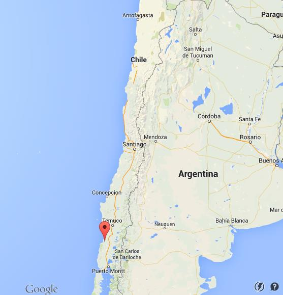 map of valdivia chile Where Is Valdivia On Map Chile map of valdivia chile
