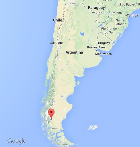 El Calafate On Map Of Argentina World Easy Guides - Argentina global map