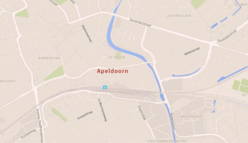 Map of Apeldoorn World Easy Guides