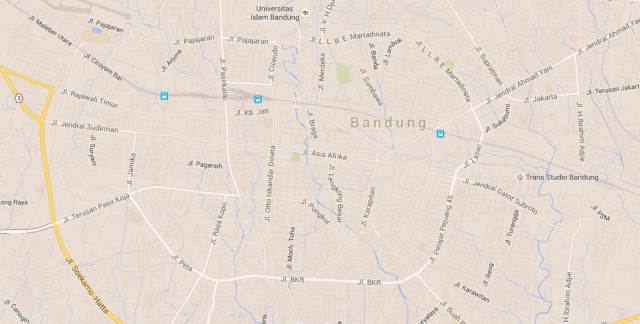 Bandung world easy guides map of bandung indonesia gumiabroncs Image collections