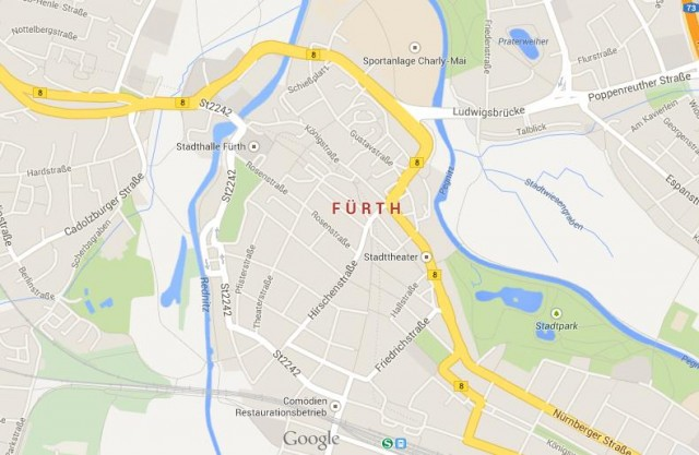 Furth city in Bavaria World Easy Guides