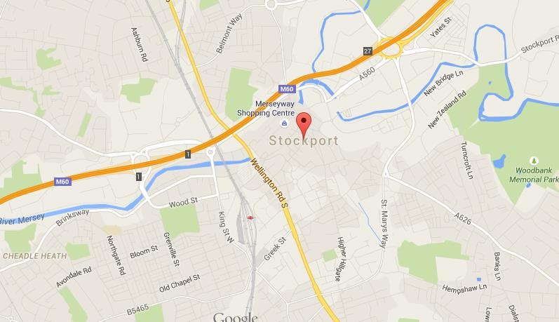 Map of Stockport World Easy Guides
