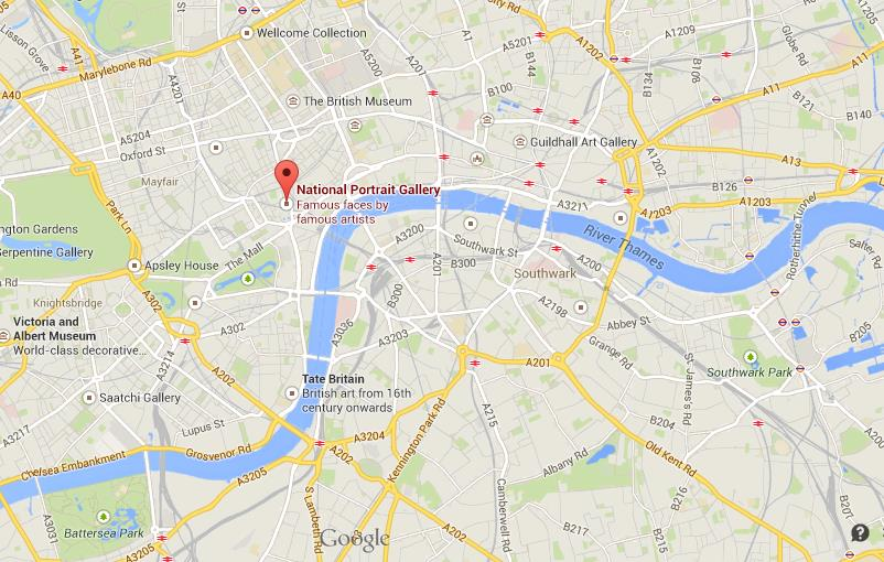 how to get to national portrait gallery