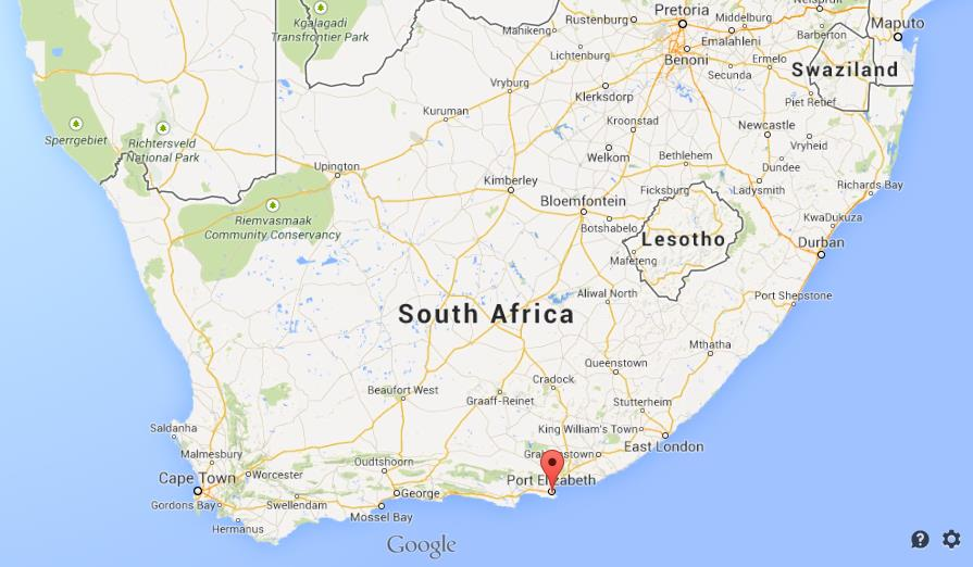 Port elizabeth on map of south africa - What to do in port elizabeth south africa ...