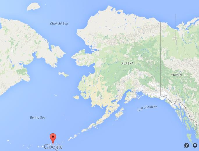 Where Are Aleutian Islands On Map Alaska