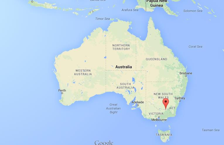 Where is Albury on map of Australia World Easy Guides