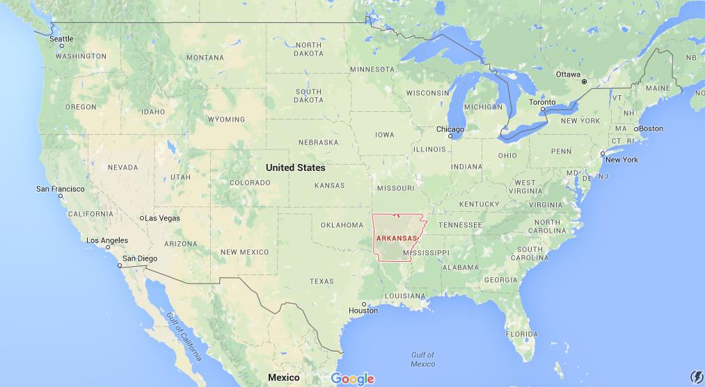 Where Is Arkansas On Map Of USA World Easy Guides - Arkansas usa map