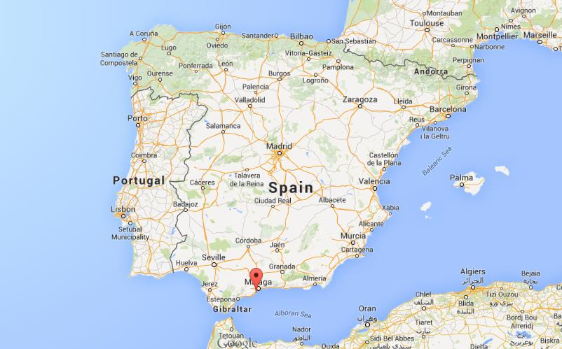 Benalmadena Spain  city images : Map Of Spain With Benalmadena for Pinterest