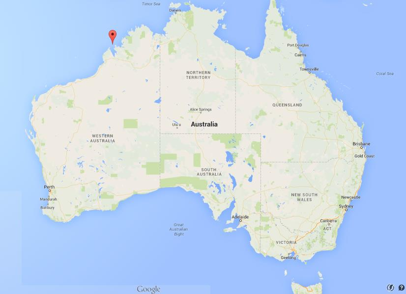 Where is Buccaneer Archipelago on map Australia World Easy Guides