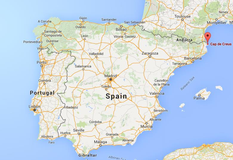 Where Is Cap De Creus On Map Spain World Easy Guides - Where is spain on the map