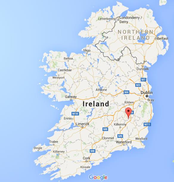 Where Is Carlow On Map Ireland
