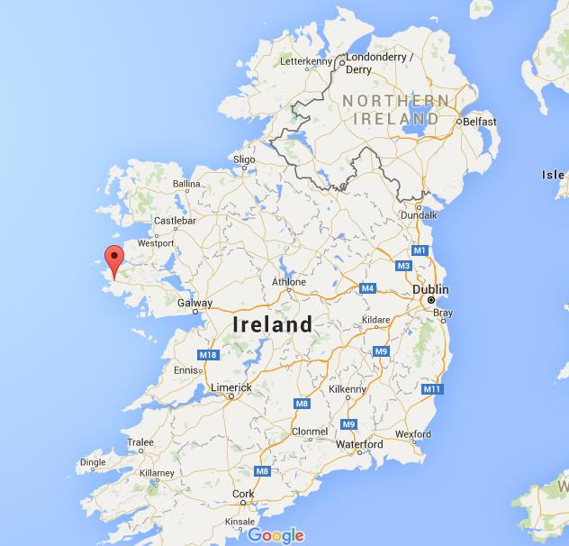 Dundalk Map Of Ireland.Where Is Clifden On Map Ireland