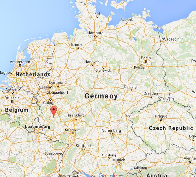Where is Cochem on map Germany