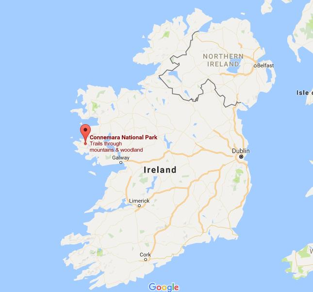 Where is connemara on map ireland gumiabroncs Image collections
