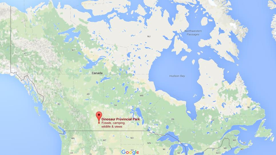 Where Is Dinosaur Provincial Park On Map Canada World Easy Guides - Location of canada in world map
