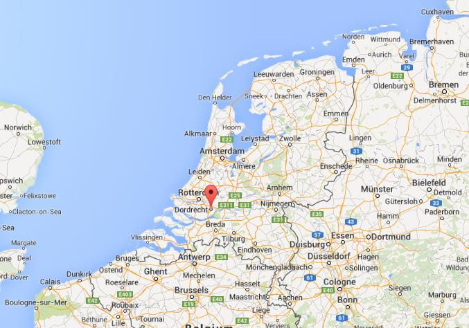 Where is Dordrecht on map of Netherlands World Easy Guides